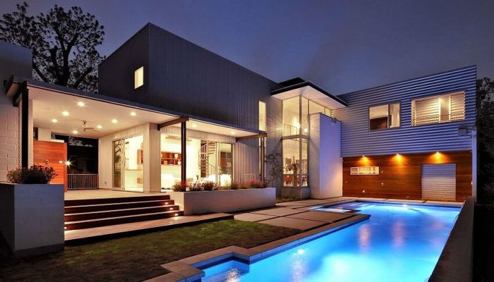 Planos modernos y minimalistas for Planos de fachadas