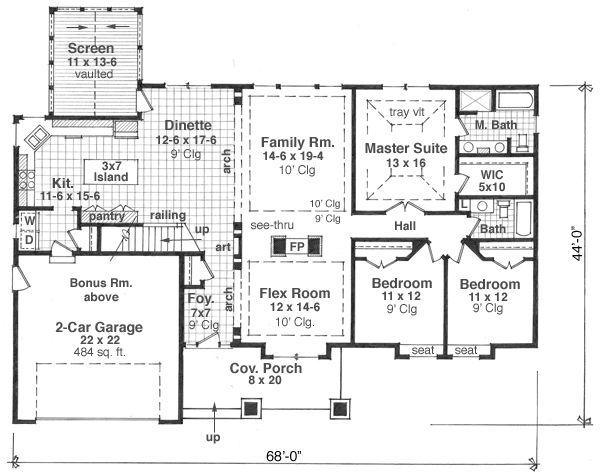 planos de casas modernas y lujosas