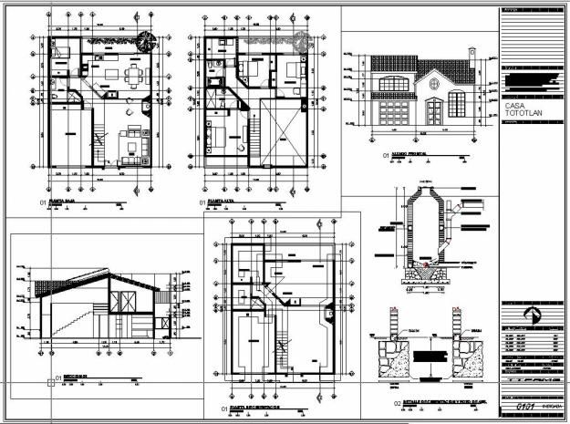 Plano de casa prefabricada for Planos ingenieria civil