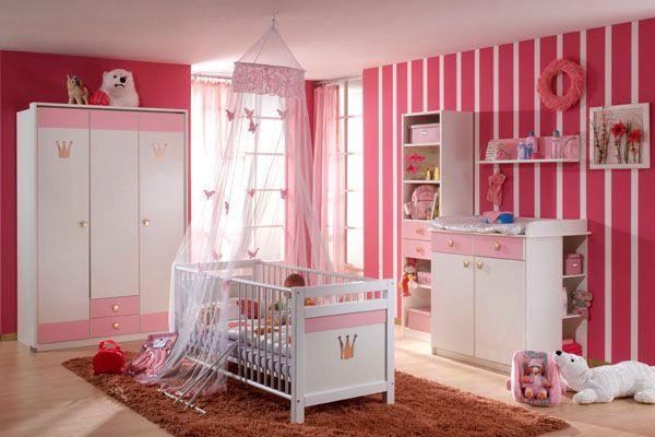 Decoracion de cuartos para bebes modernos - Dormitorios para ninas ...