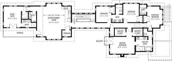 Casa lujosa planta alta