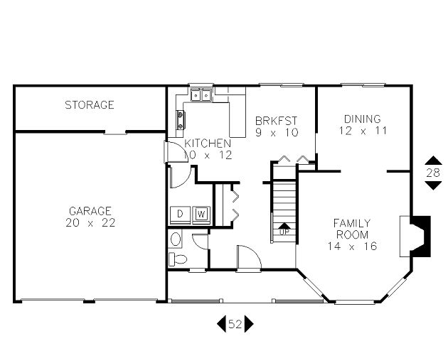 Plano primera planta for Planos de oficinas pequenas