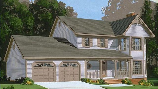 Casa rustica for Planos de casas de campo rusticas