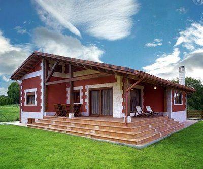 Casa de campo for Plano casa campo