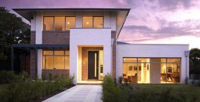 casa lujosa de cuatro habitaciones