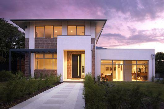 Casa moderna de 4 habitaciones - Entradas casas modernas ...