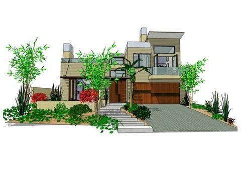 5 planos de casas modernas for Creador de casas