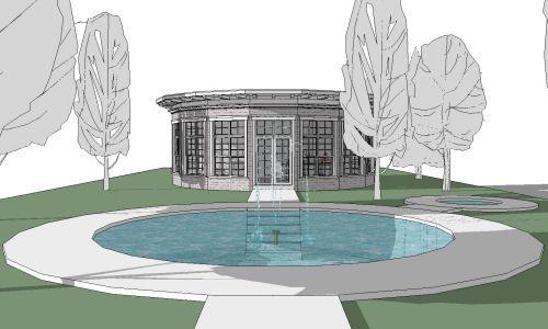 4 planos de casas peque as for Casas modernas redondas