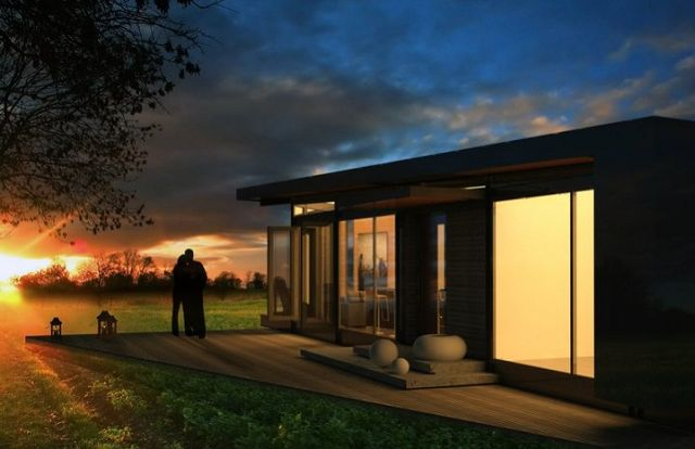3 planos de casas prefabricadas