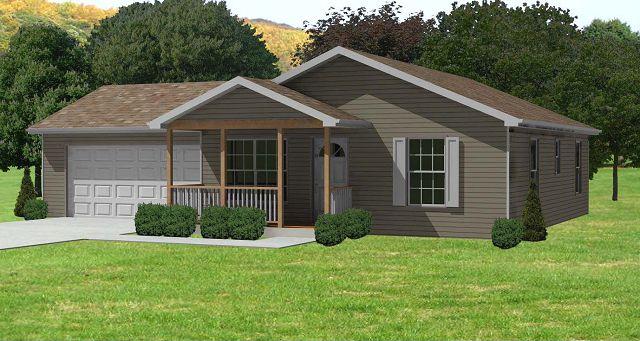 Plano de casa peque a de madera - Casas madera pequenas ...