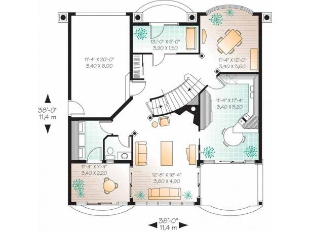 planos de casas modernas italianas