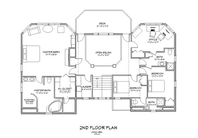Casa de playa lujosa y amplia Beach house floor plans australia