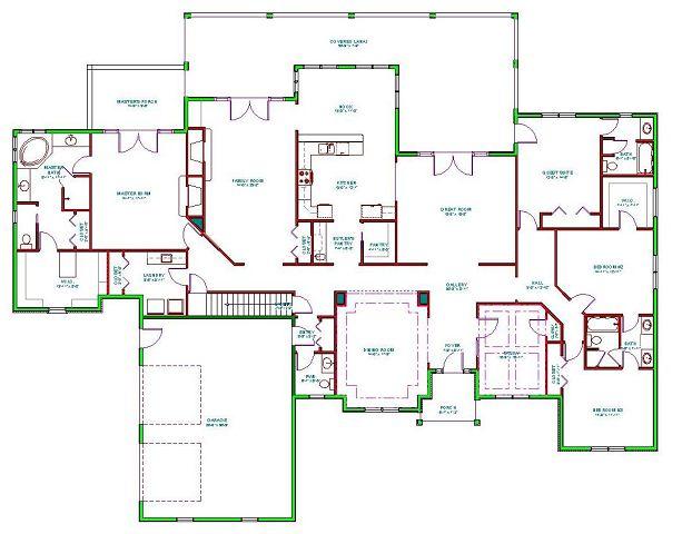 Muy bella vivienda con estilo mediterr neo House plans mcallen tx