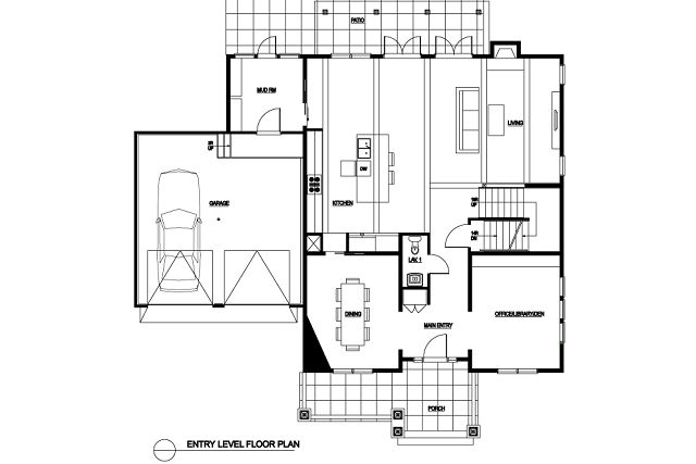 Planos de casas de planta baja plano planta baja casa for Casa de planta baja