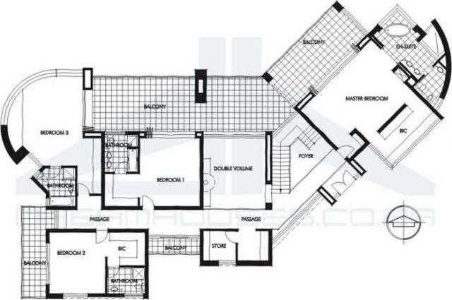 Pisos y planos minimalistas y modernos