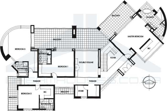 Planos Modernos Y Minimalistas on 2 bedroom duplex plans
