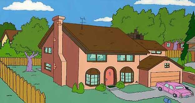 Plano de casa de los Simpson 3
