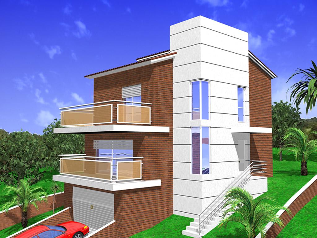Plano de casa unifamiliar for Casa vivienda jardin pdf