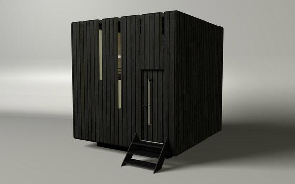 Plano de vivienda modular ecologica