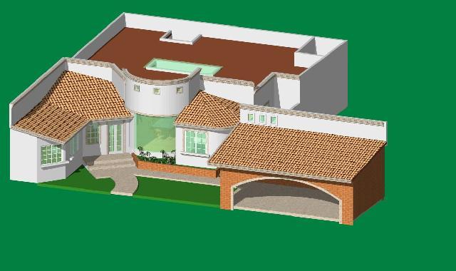 Planos de casas con fachada for Programa para hacer planos arquitectonicos