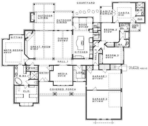 Baños Residenciales Modernos:Planos De Casas Pequenas