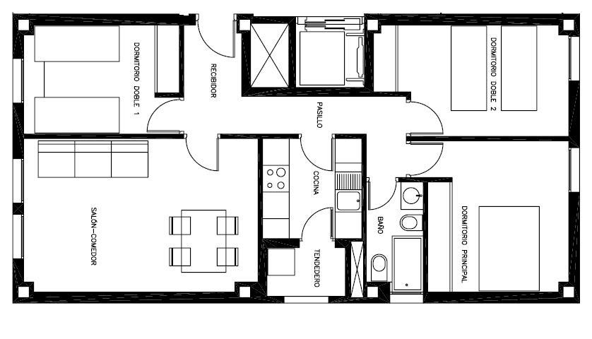 Planos modernos de casas 2014 2015 for Diseno de oficinas pequenas planos