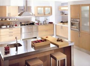 Planos modernos de cocinas con islas
