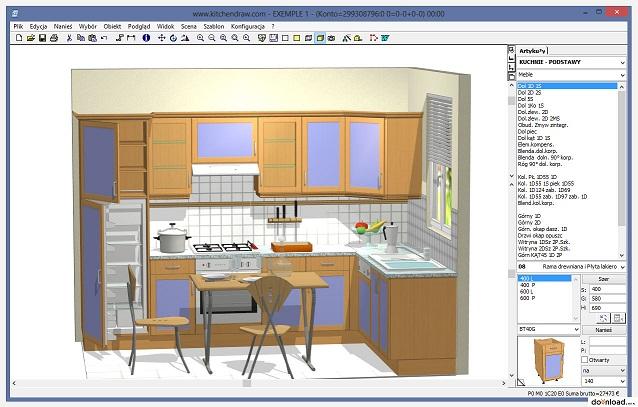 Planos modernos de cocinas grandes for Planos cocinas modernas