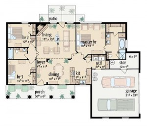 Planos para construir una casa de campo - Planos para hacer casas ...