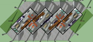 plano de casa 3d