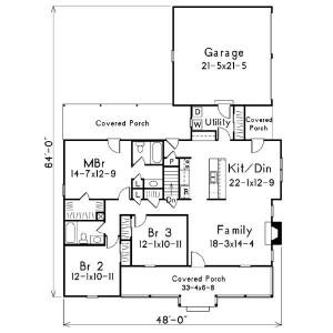 plano de casa campestre
