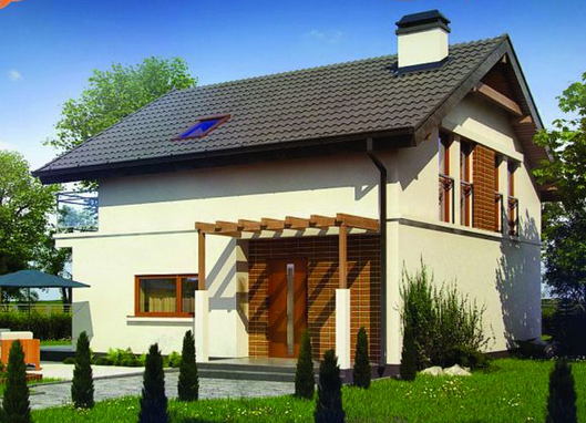 Planos y fachadas de casas chicas for Planos y fachadas de casas pequenas de dos plantas