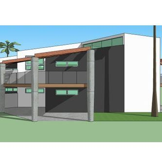 Duplex for Planos 3d online