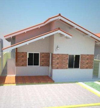 Casas peque as for Planos de oficinas pequenas