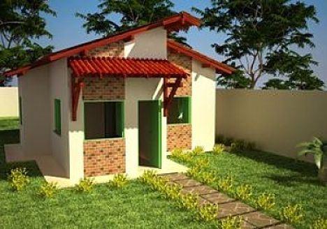 planos y fachadas de casas econ micas. Black Bedroom Furniture Sets. Home Design Ideas