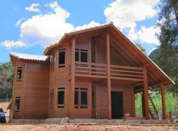 Planos casas de madera - Madera para casas ...