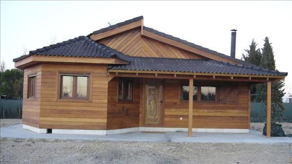 Planos de casas de madera for Modelos de casas de madera de un piso