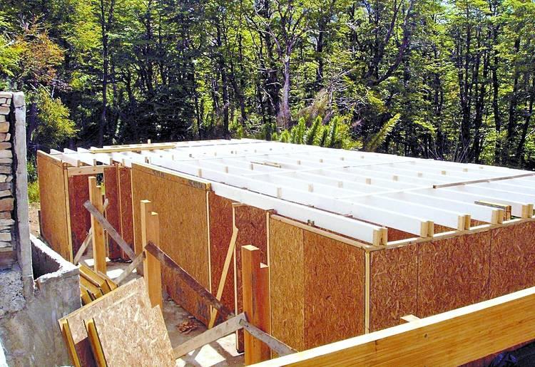 Planos casas de madera - Construir una casa de madera ...