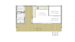 plano de casa moderna gratis