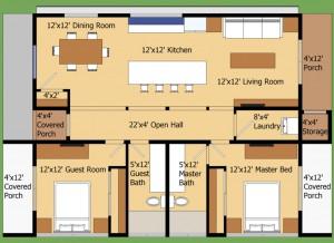 plano de construccion de casa