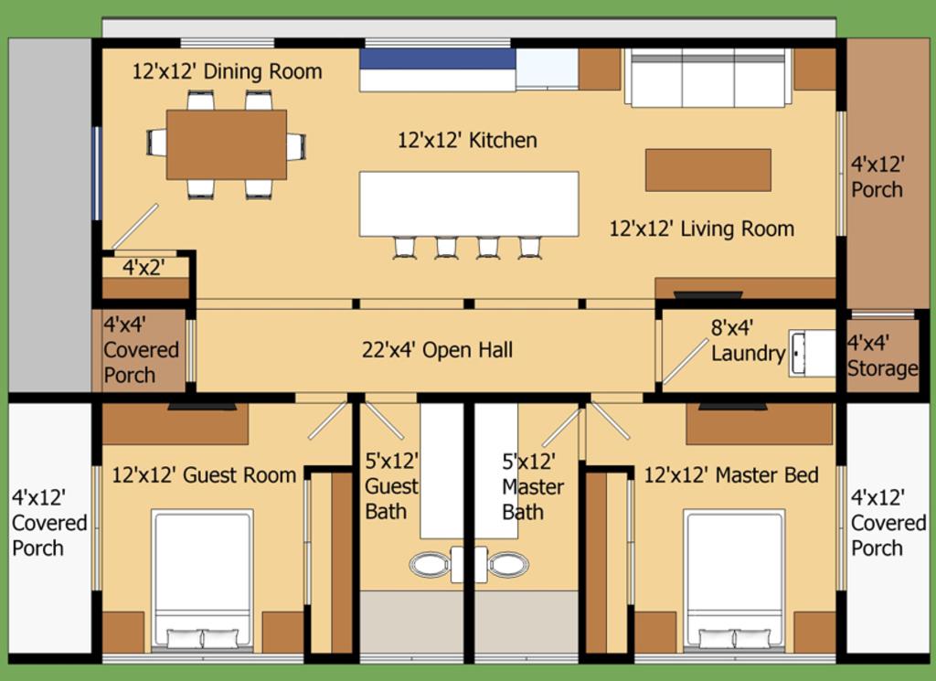 Planos de construcci n de casas for Planos de construccion de casas pequenas