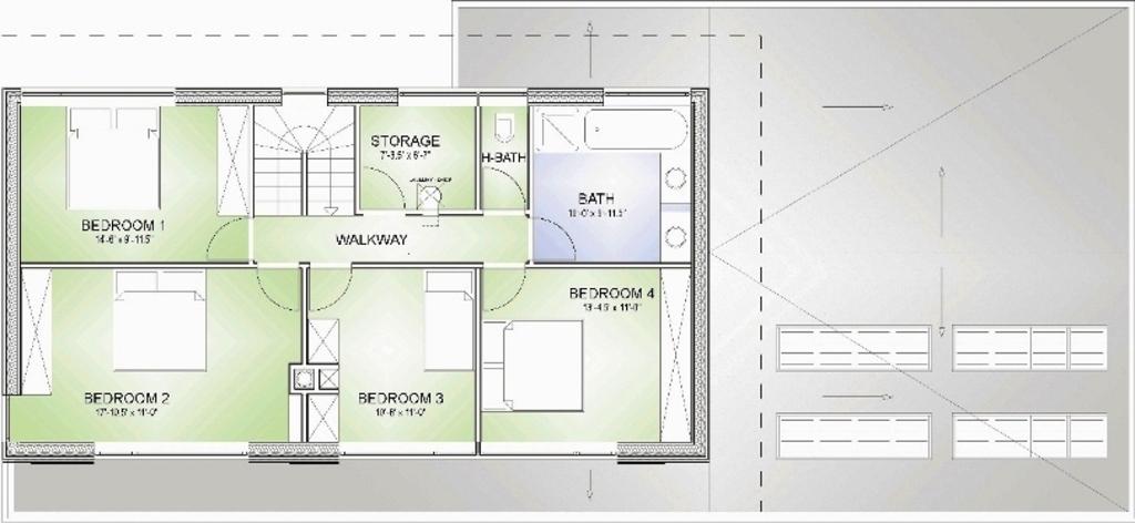 Modelos de planos de casas for Plano de una cocina profesional