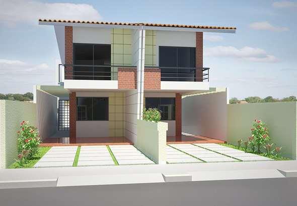 Planos de casas de 3 dormitorios y dos niveles for Casa de 2 plantas y 3 habitaciones