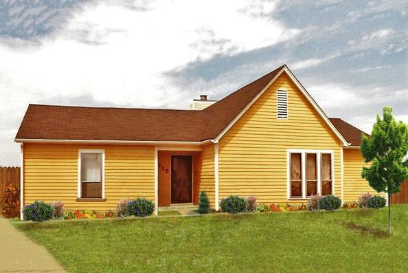 Planos de casas de madera for Casas actuales modernas