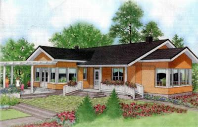 Planos casas de madera - Casas de madera para campo ...