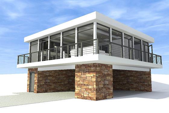 Planos y fachadas de casas modernas gratis for Planos de casas gratis