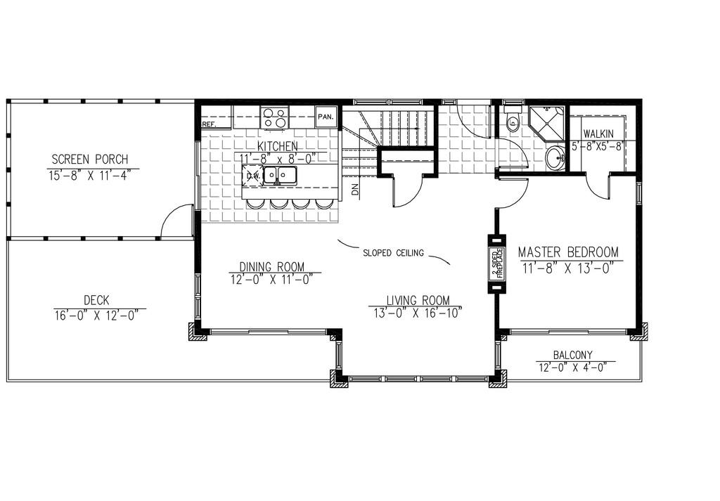 Planos de casas modernas de dos plantas for Diseno de oficinas pequenas planos