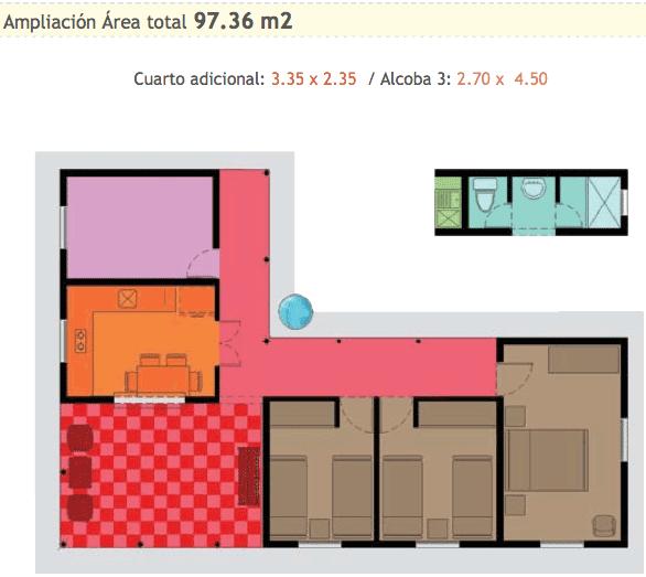 Planos de casas en l - Fotos de casas en forma de l ...