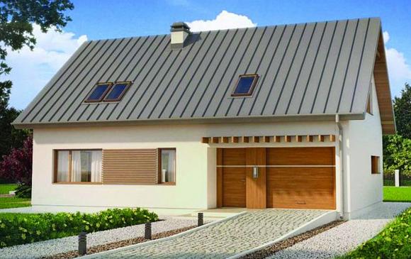 Planos gratis de casas for Casas de chapa para jardin