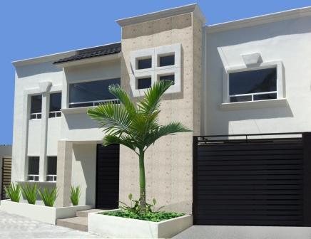 Fachadas para casas de 6 metros de frente for Frente casa moderna